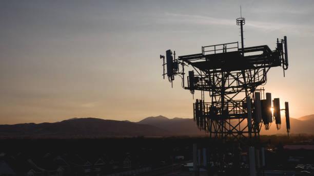 5G wireless Communication tower